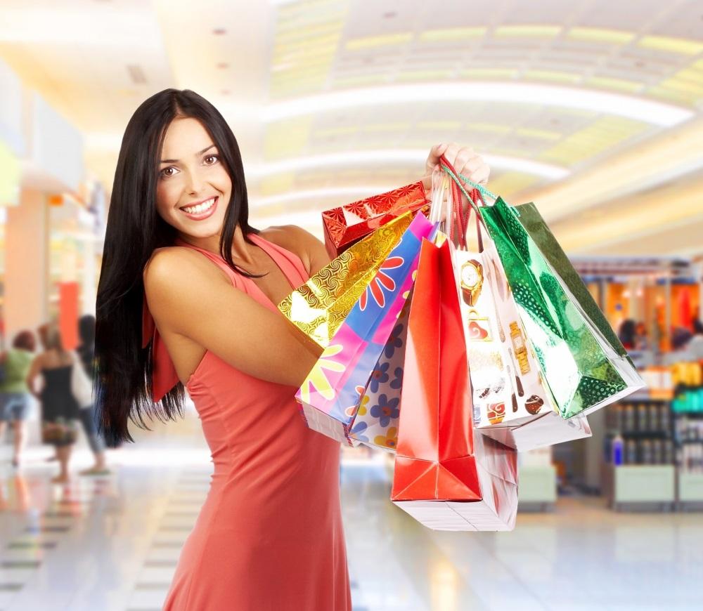 информации фото с различными товарами открытом